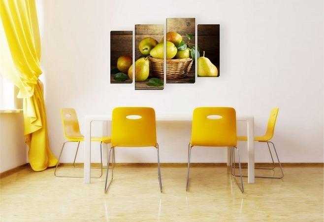 Kristal Beyaz Yemek Odası