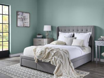 Çağla Yeşili Yatak Odası Projesi