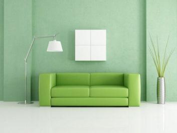 Zümrüt Yeşili Oturma Odası Projesi